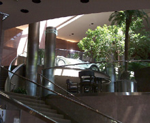 The Blackhawk Automotive Museum - Lobby and Stairway