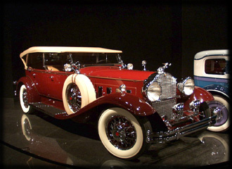The Blackhawk Automotive Museum, Danville - 1930 Packard 745
