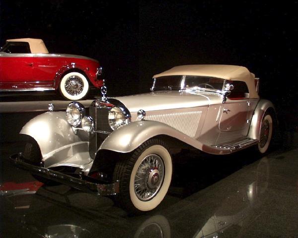 The Blackhawk Automotive Museum Danville 1934 Mercedes 380 K Sport Roadster