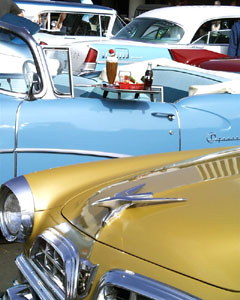 Color and Chrome - Chrysler New Yorker, Buick Special