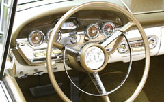 Color and Chrome - Edsel dashboard