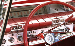 Color and Chrome - Buick Invicta dashboard
