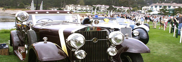 The Pebble Beach Concours d'Elegance 2000