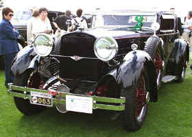 1929 Stutz Model M Lancefield Coupe