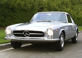 1964 Mercedes-Benz Pagoda by Pininfarina