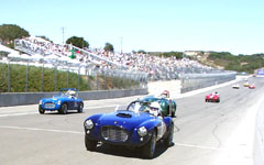 1952 Siata and 1952 Jowett Jupiter at the Monterey Historic Automobile Races 2001