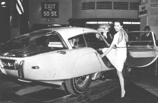 Pegaso at the 1953 New York Autoshow