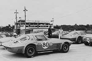 50th anniversary of the Corvette at the Monterey Historic Automobile Races 2002