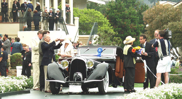 The Pebble Beach Concours d'Elegance 2002 - Best of Show
