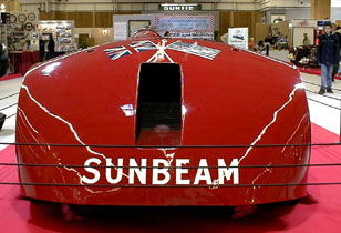 Retromobile 2003 - 1927 Sunbeam 1000 hp Henry Seagrave World Speed Record Vehicle