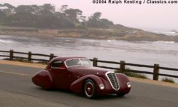 Pebble Beach Tour 2004 - 1932 Alfa Romeo 8C 2300 Viotti Coupe