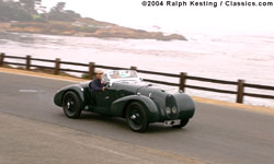 Pebble Beach Tour 2004 - 1940 Aston Martin Type C Speed Model