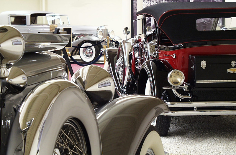 The Imperial Palace Auto Collection Duesenberg Centraly Located On Las Vegas Boulevard