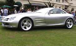Mercedes-Benz SLR Concept Car