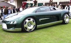 Bentley Hunaudieres Concept Car