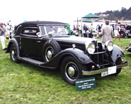 1932 Horch 780 Sports Cabriolet
